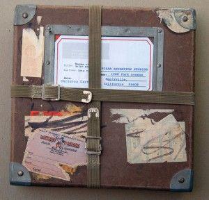 The Vintage Resume Package Brian Moose sent to Pixar