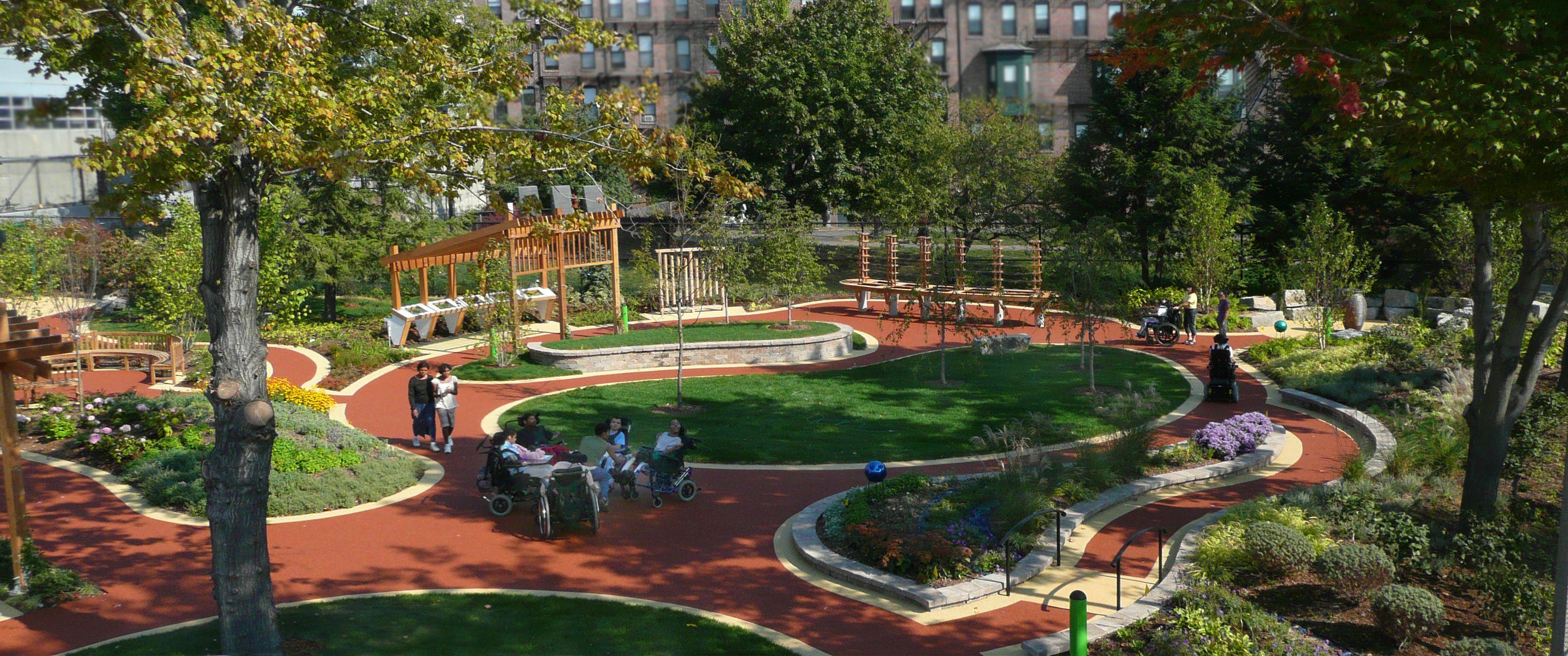 w e carter school sensory garden