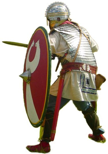 Image result for roman soldier late""