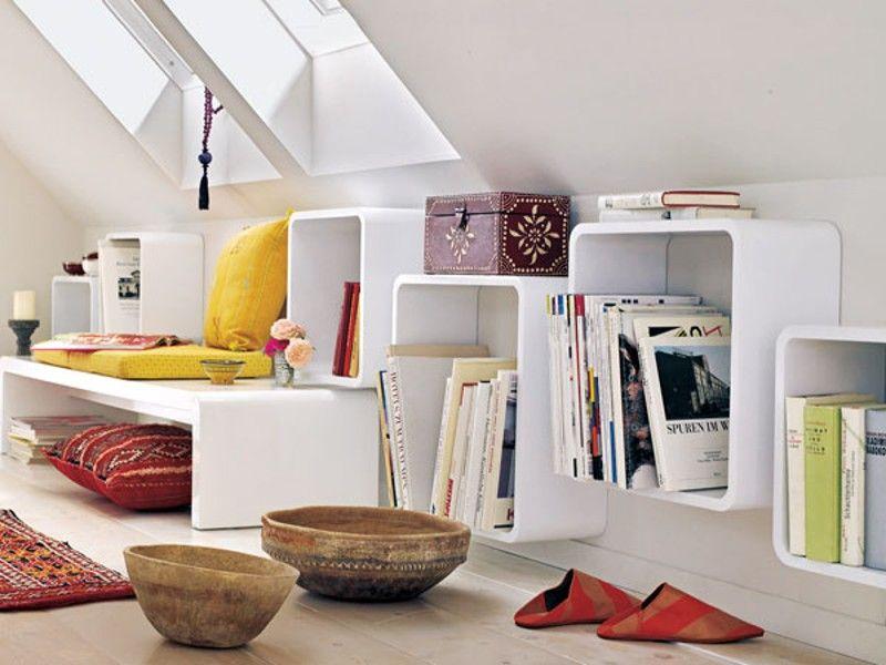 16 praktische Wohnideen für Ihre Dachschräge Dachschräge - wohnzimmer mit dachschräge