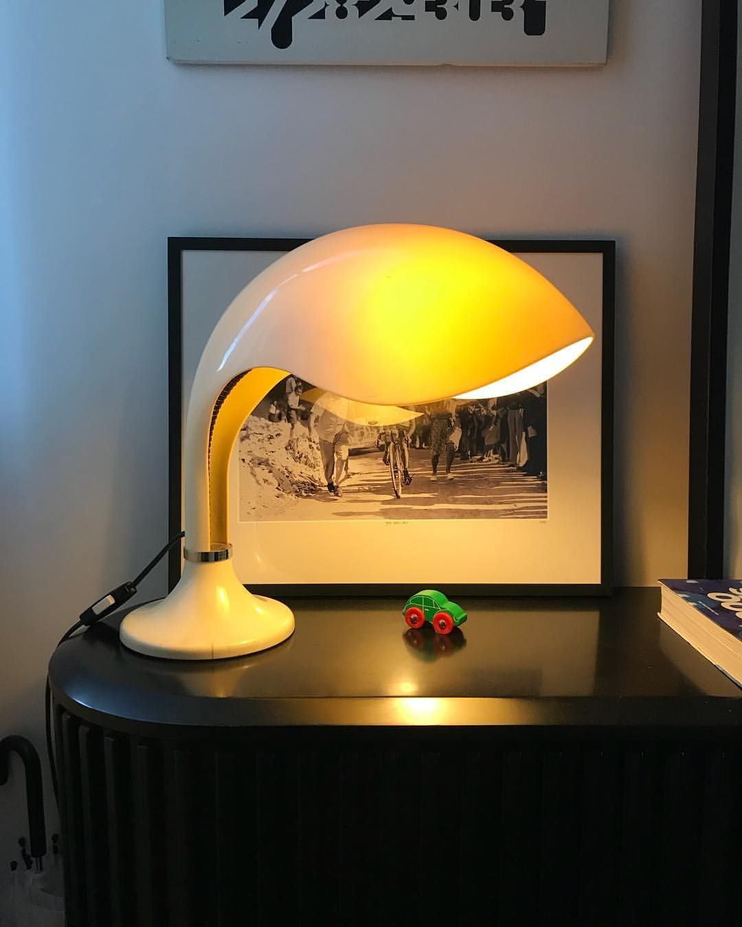 Marcello Cuneo Rhea Minor Amphaglas 1970 Luminaire Lamp Lumiere