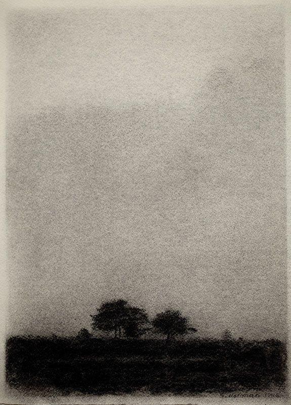 Gunnar Norrman (Swedish, 1912-2005) - Fall Evening, 1986