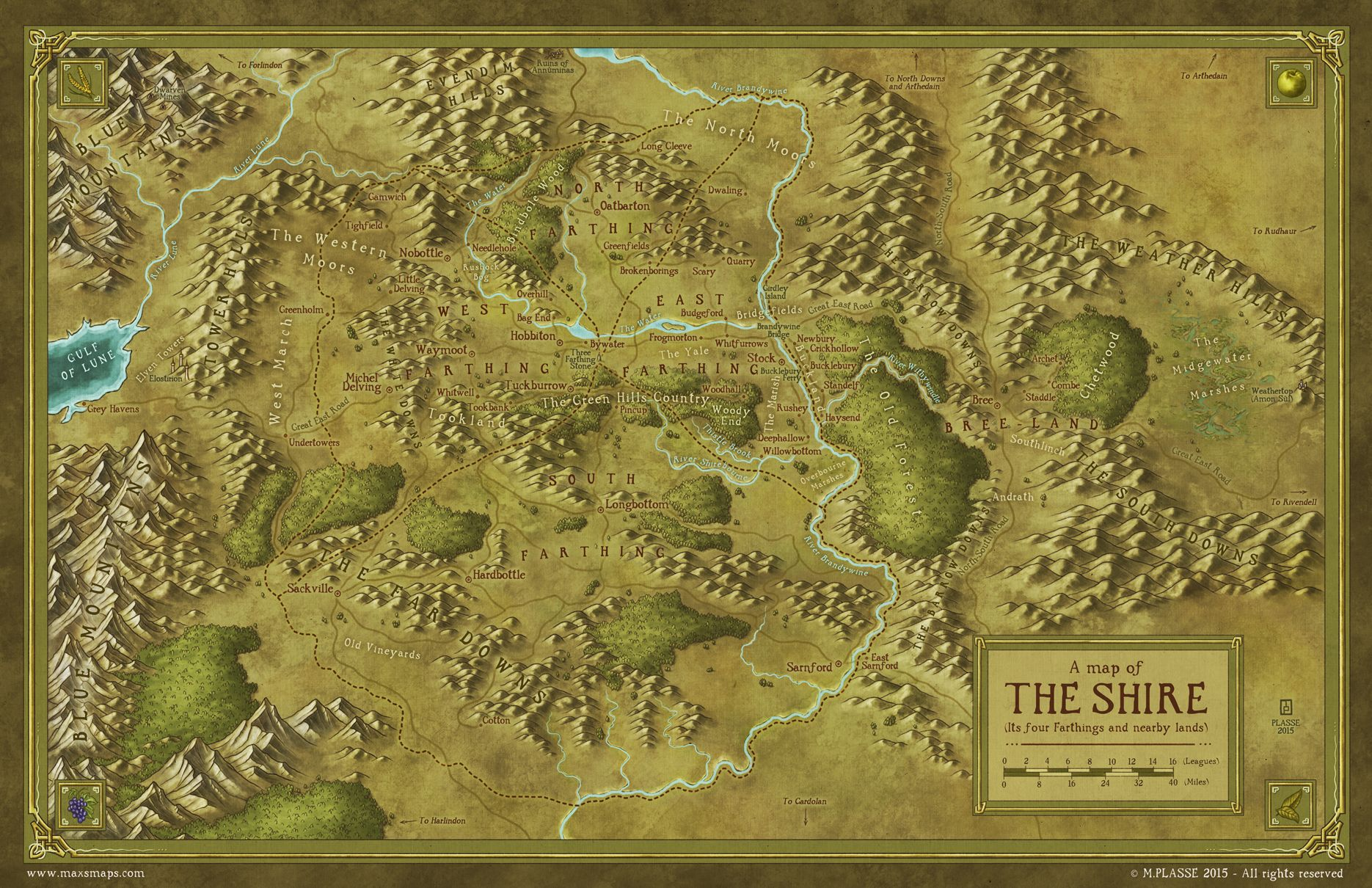 the shire middle earth by maximeplassedeviantartcom on deviantart