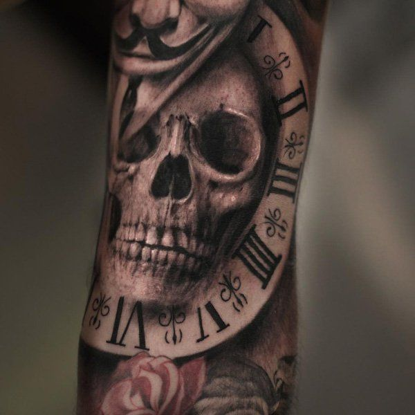 Clock Tattoo Google Search Tattos Tatuajes Calaveras Tatuajes