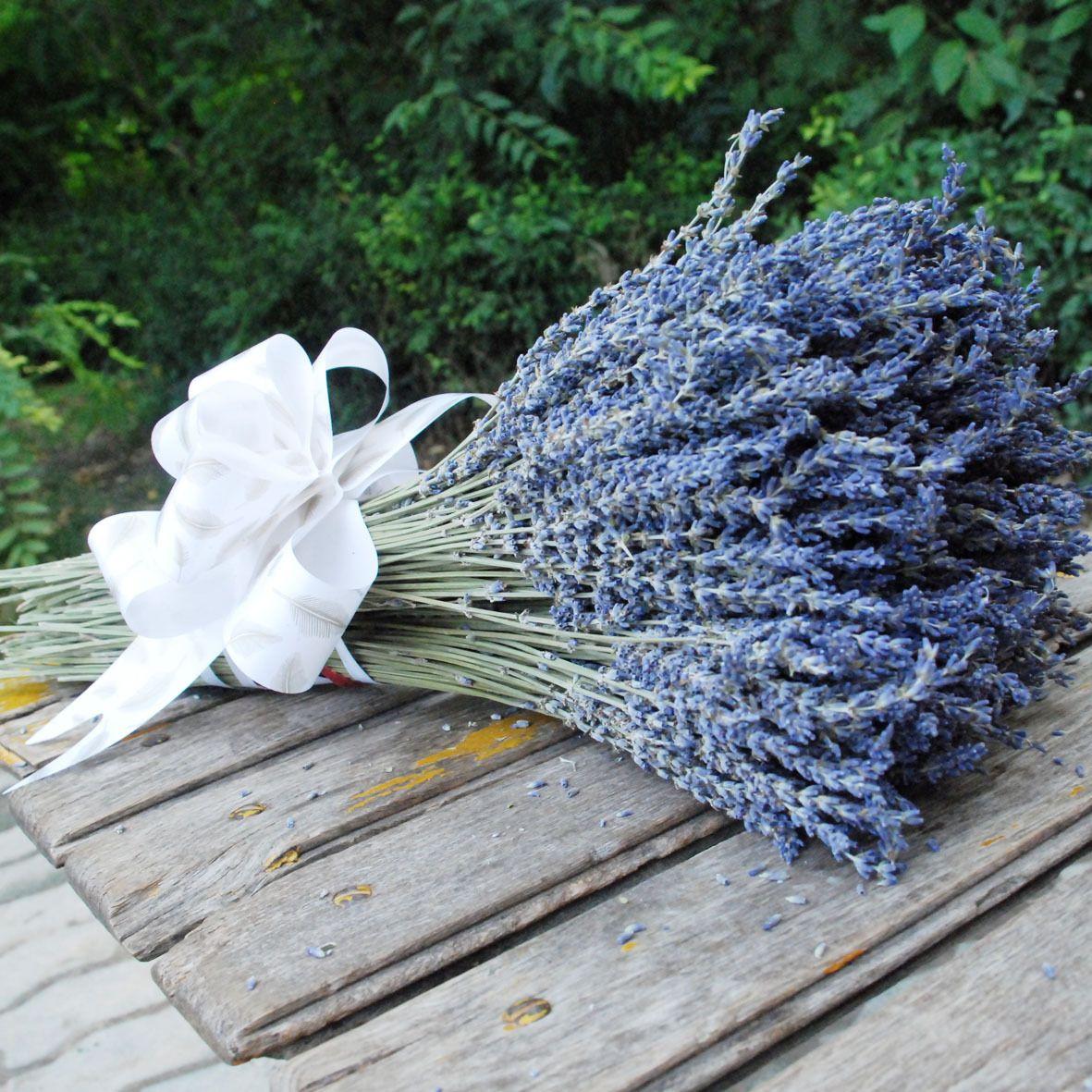 Dried lavender bouquet natural lavender flower bouquet rustic decoration aromatic $32.83