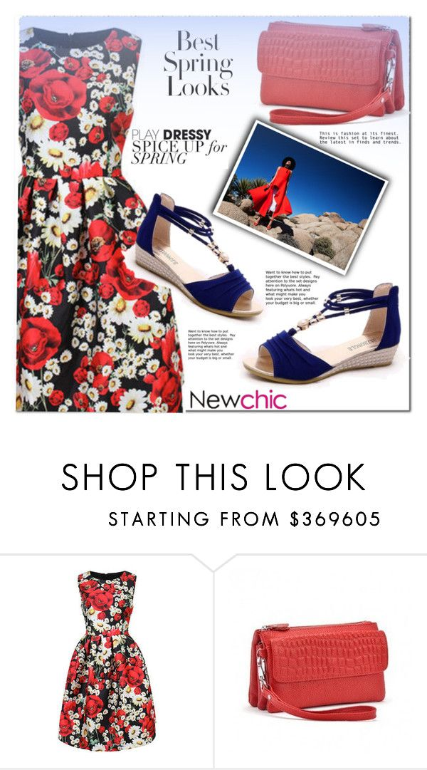 """""""Newchic"""" by aaidaa ❤ liked on Polyvore featuring H&M and lovenewchic"""