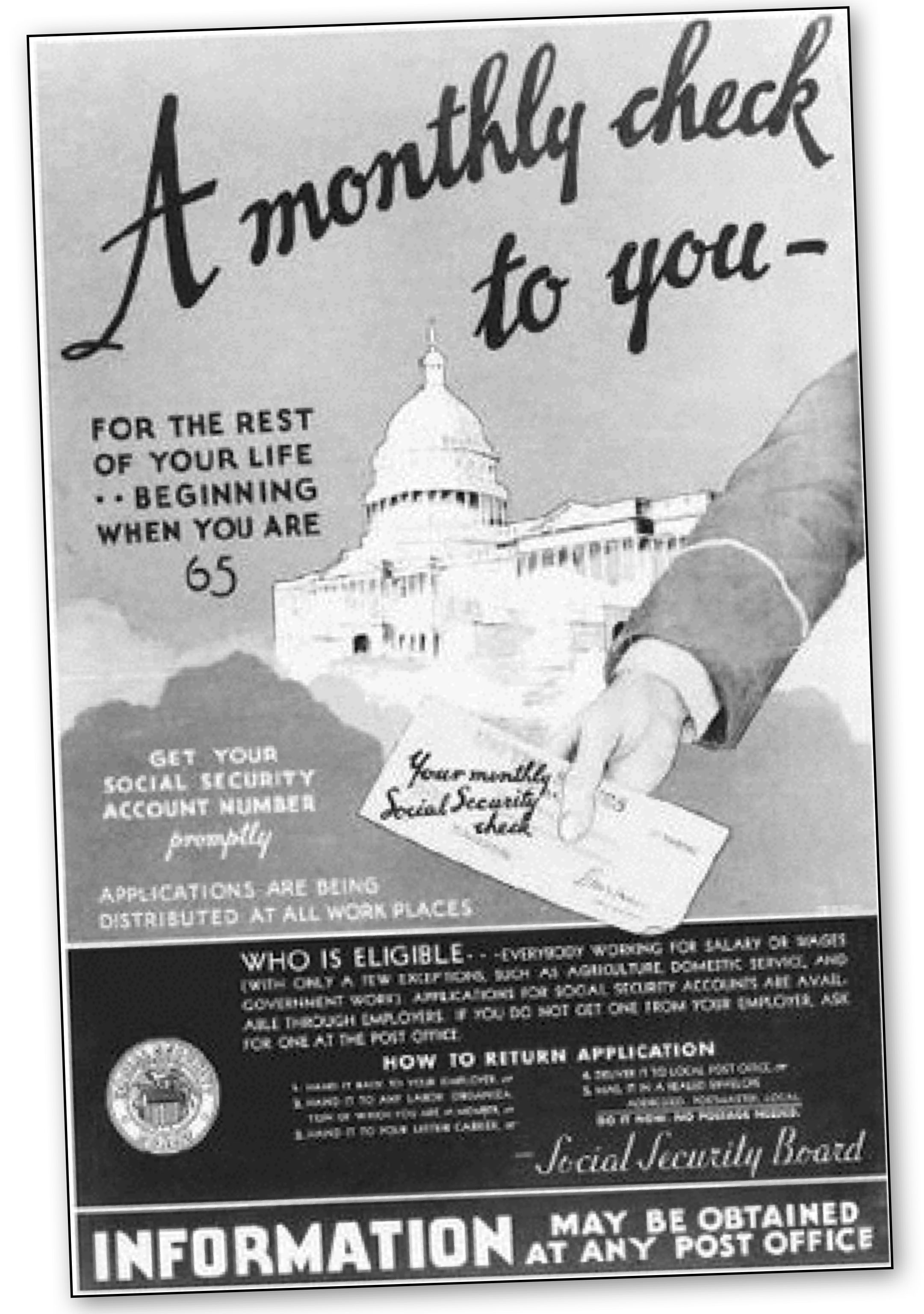 THE 1935 SOCIAL SECURITY ACT created a trust fund into ...