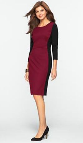 Color Block Dresses That Make You Look Thinner And Is Available In