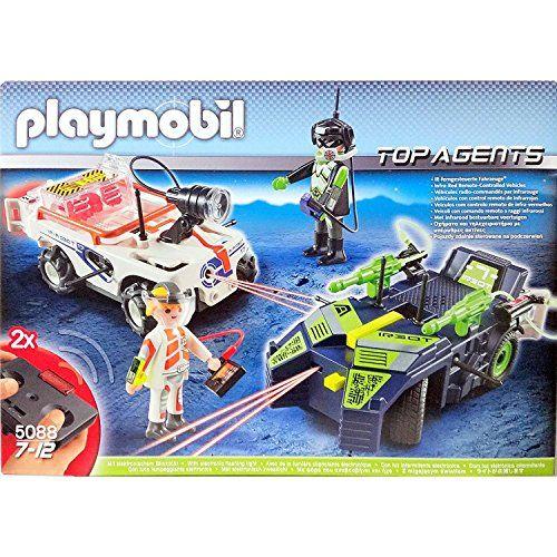 playmobil 5088 top agents spy teamrobogangstar