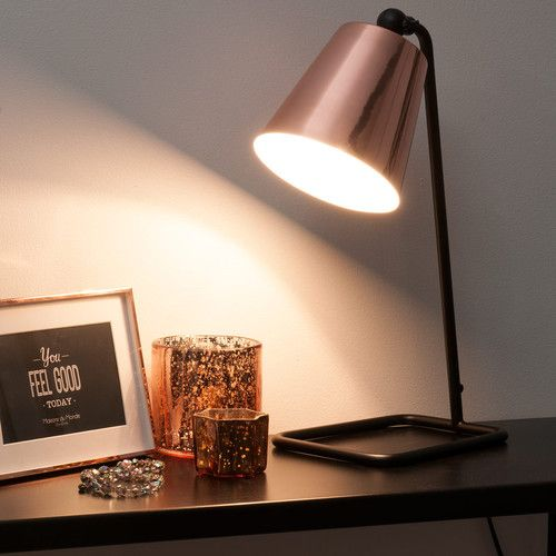 luminaire cuivre nouveauté lampe Maison du monde Le Blog