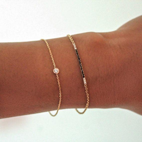 Diamond Bracelet 07 09 ct Solitaire Diamond