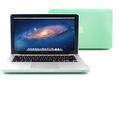 Amazon.com: GMYLE(R) 2 in 1 - Aqua Green Frosted Matte Rubber Coated Rubberized See Thru Hard Snap On Case for Apple 13.3 inch Macbook Pro - With TPU Transparent Protective Keyboard Cover: Computers & Accessories