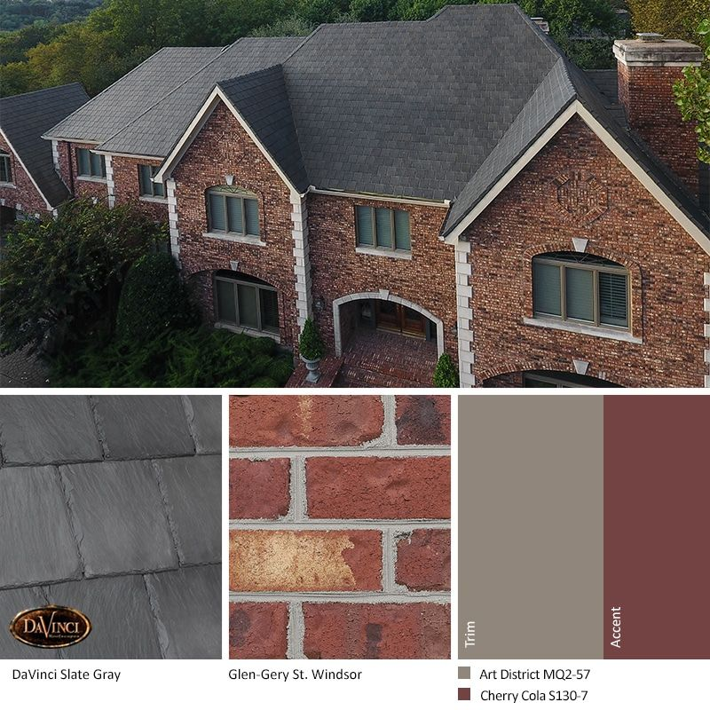 Red Brick Exterior Color Schemes Brick House Exterior Colors House Exterior Color Schemes Red Brick House