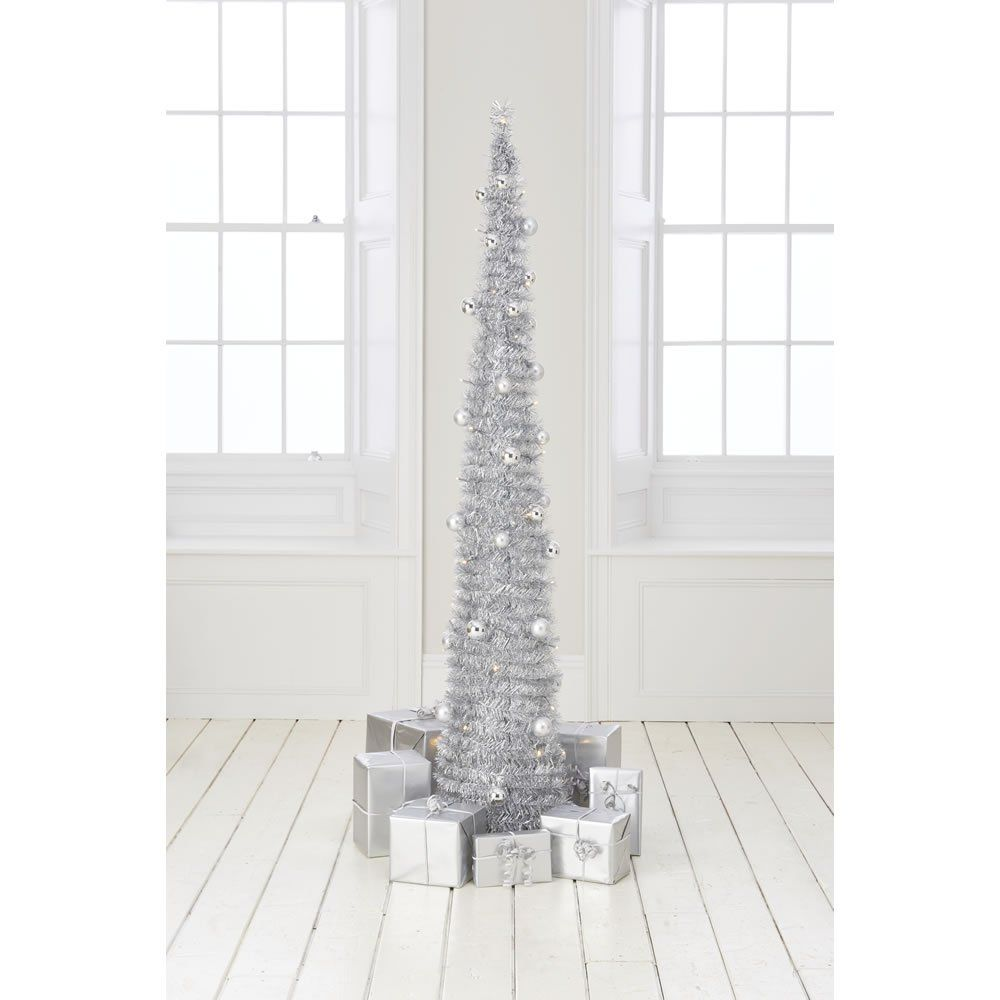 6ft Pop Up Battery Operated Christmas Tree