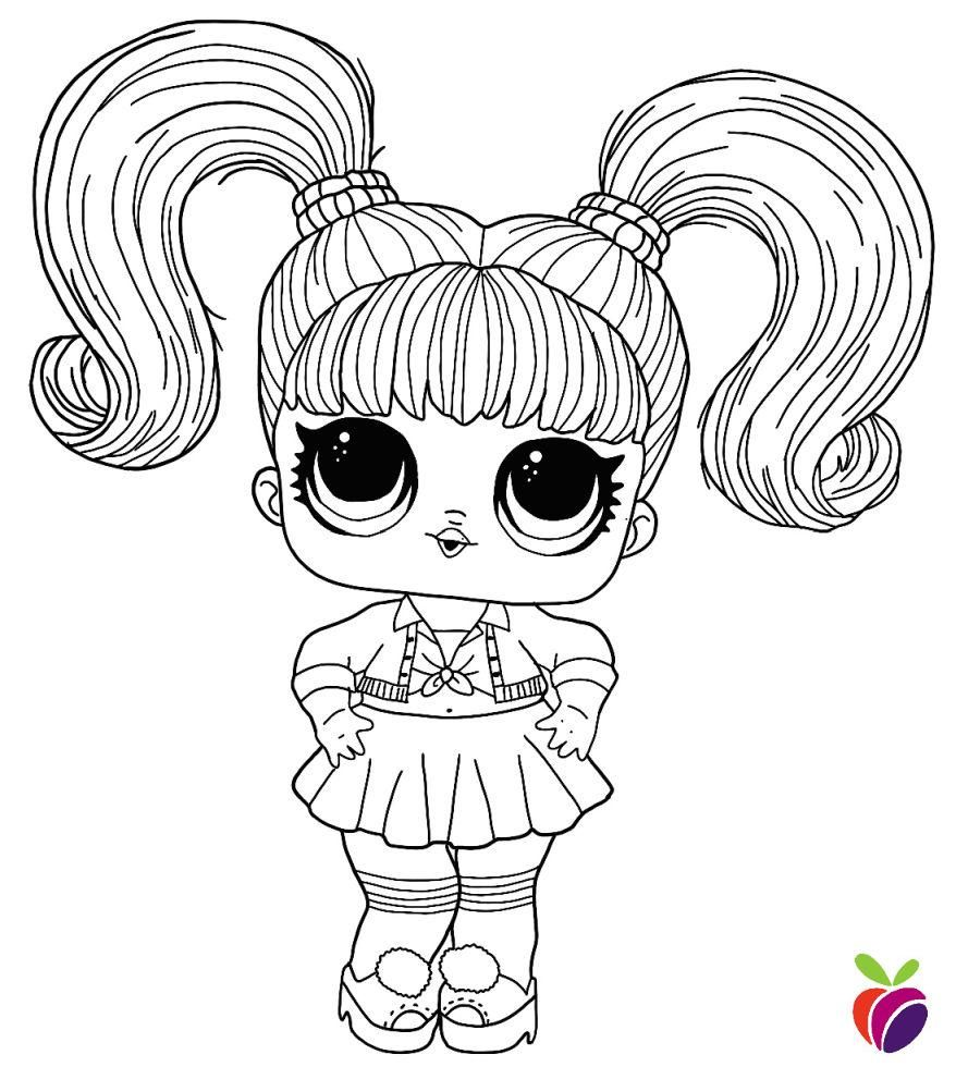 Lol Surprise Hairgoals Series Coloring Page Oops Baby Cool Coloring Pages Baby Coloring Pages Free Coloring Pages