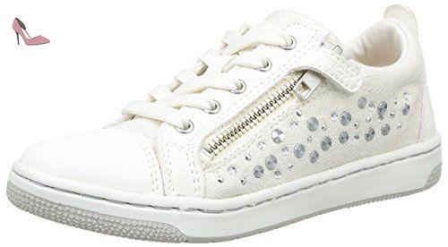 Geox Ciak C, Sneakers Hautes Fille, Bleu (Denimc4008), 39 EU