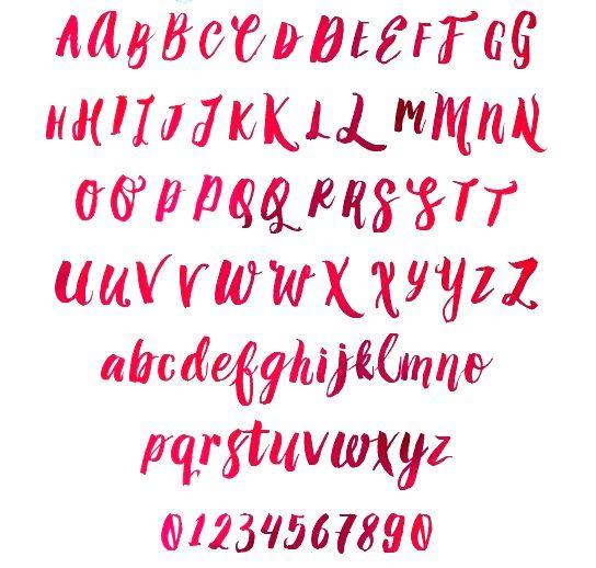 amelian script font alphabet - Google Search | Fonts