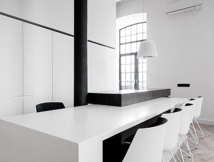 Fantastisch Einrichtungsideen In Schwarz Und Weiß Küche