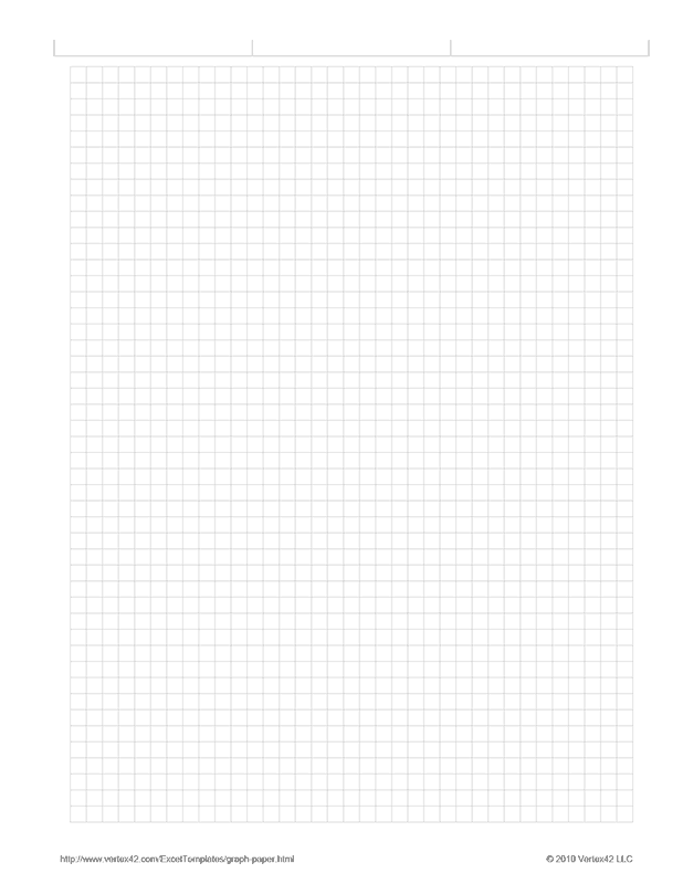 Free printable Graph Paper - 1/5 inch (PDF) from Vertex42.com ...