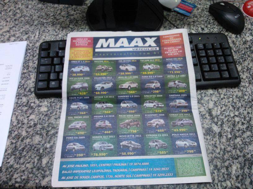 Anúncio Maax Veículos !