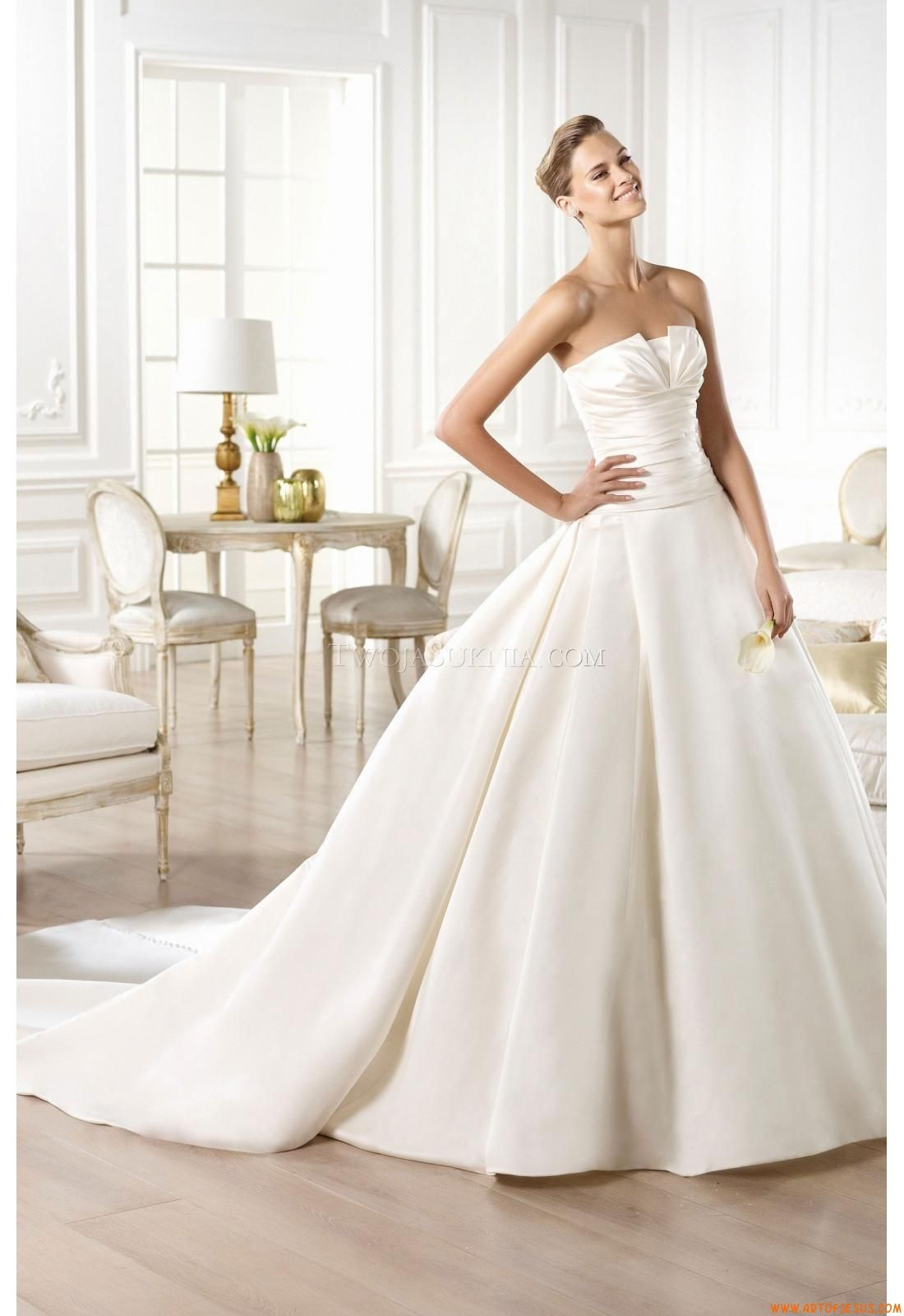 Pronovias Collection 2015 Glamour: GEORGIA Size 2 Wedding Dress ...