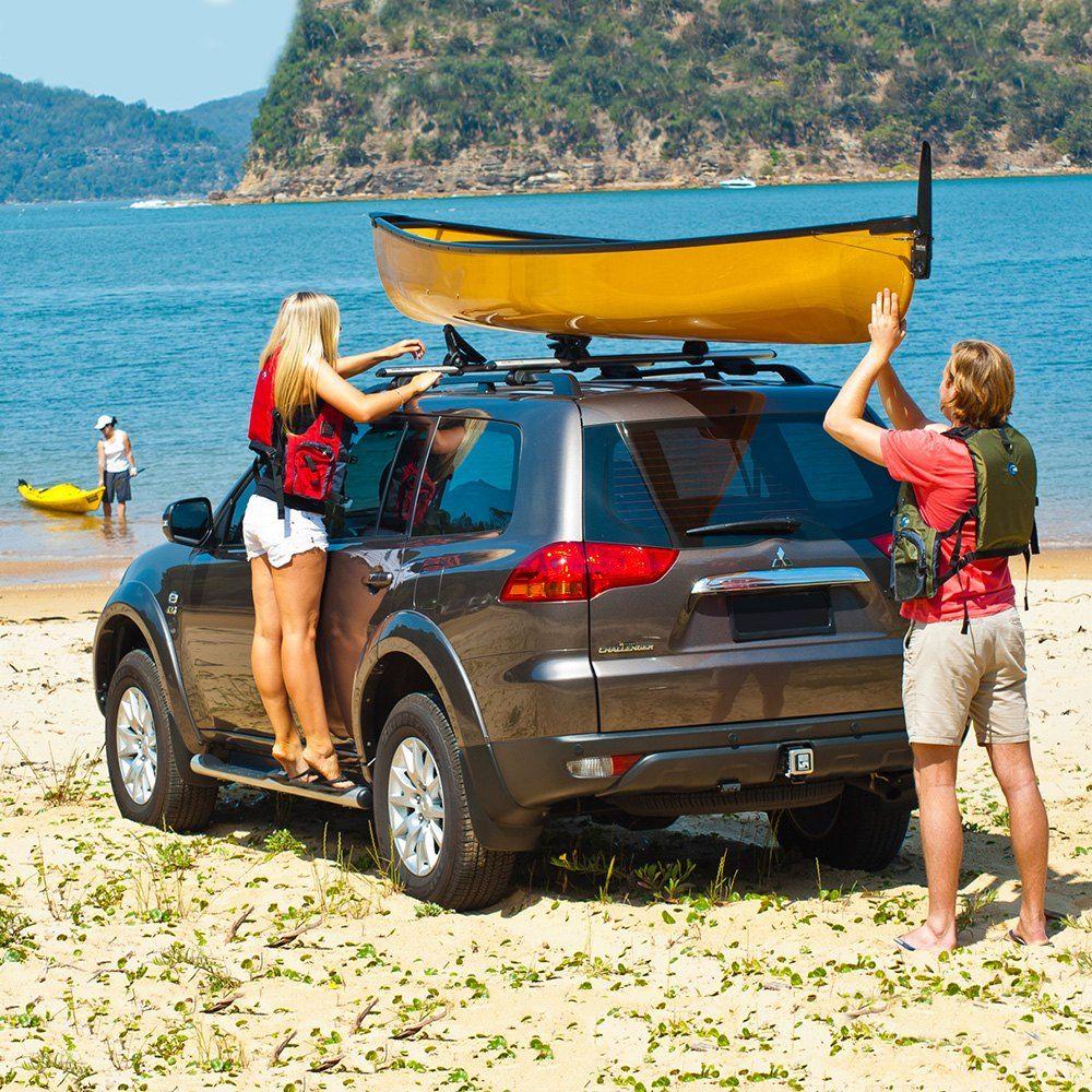 Rhino Rack Toyota Rav4 2018 Nautic Rear Loading Kayak Carrier