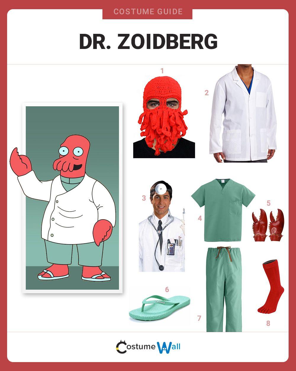 Doctor Futurama Alien Cartoon Inspired KidsT-Shirt Dr Zoidberg