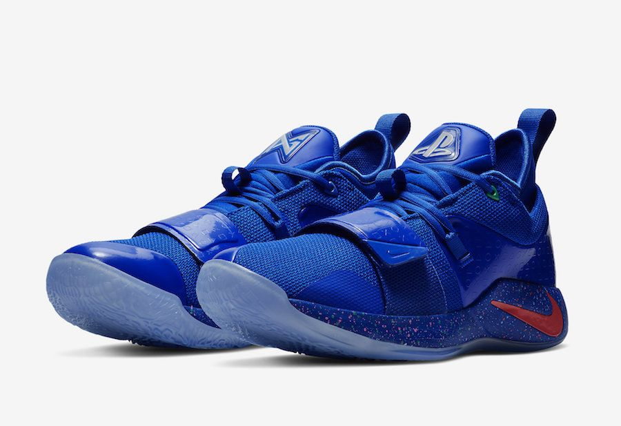 first rate bc068 d04e4 PlayStation Nike PG 2.5 Blue BQ8388-900 Release Date - SBD ...