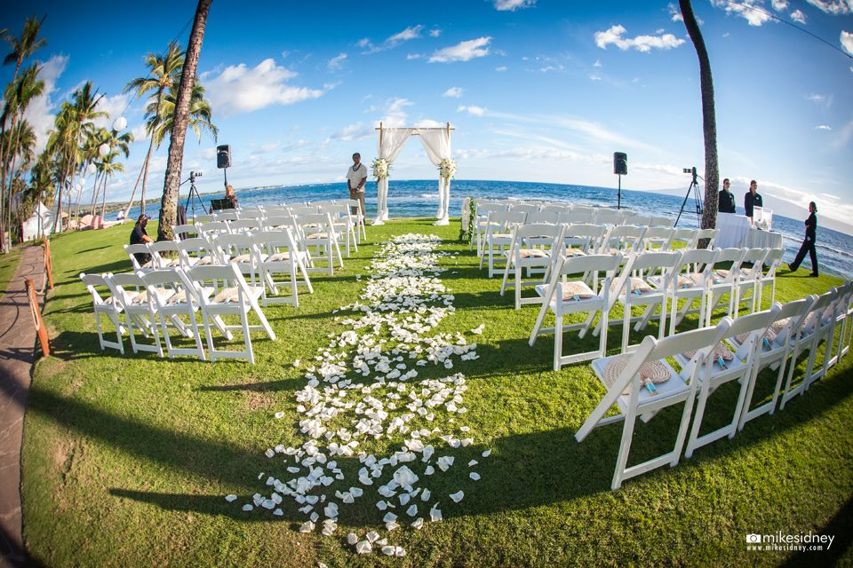 Hyatt Regency Maui Resort Spa Wedding Setup By Hawaiian Style Event Als Www