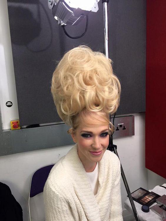Ambada Hairstyle In English Bouffant Hair Beehive Pinterest