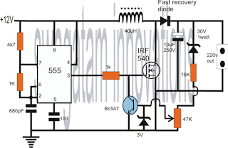 555 Oscillator Inductor
