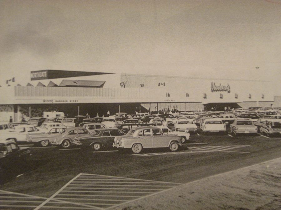 Woodward's at Northgate Shopping Centre, 1965  | Edmonton in