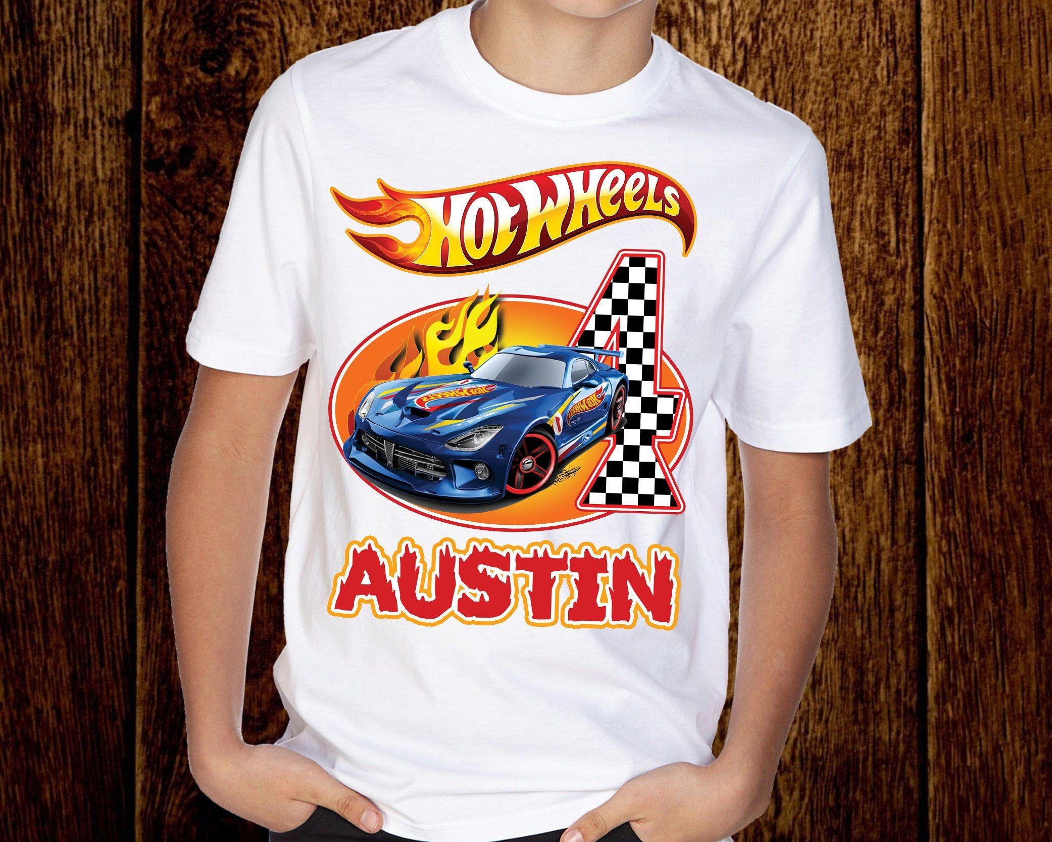Hot Wheels Birthday  T-shirts Hot wheels Birthday Tees. Hot Wheels Birthday T-shirts