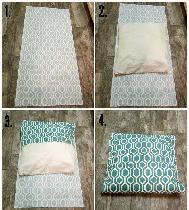 20 Cheap And Easy DIY Pillow Cover Ideas No Sew  Diy