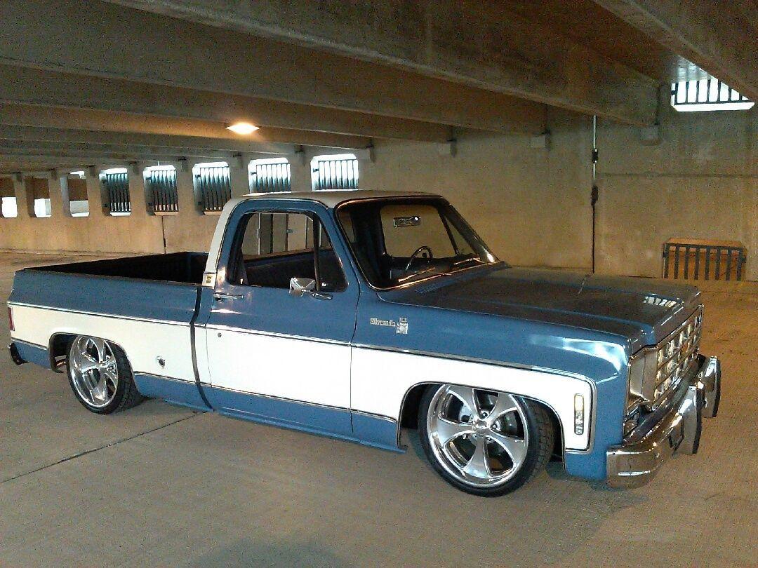 Chevrolet c 10 silverado paint scheme like grandads 77