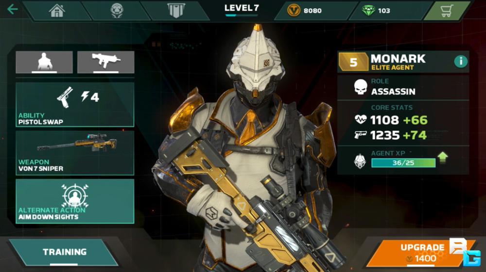 Artstation Monark Modern Combat Versus Gameloft Mtl Rodrigue Pralier In 2020 Monark Game Design Concept Design