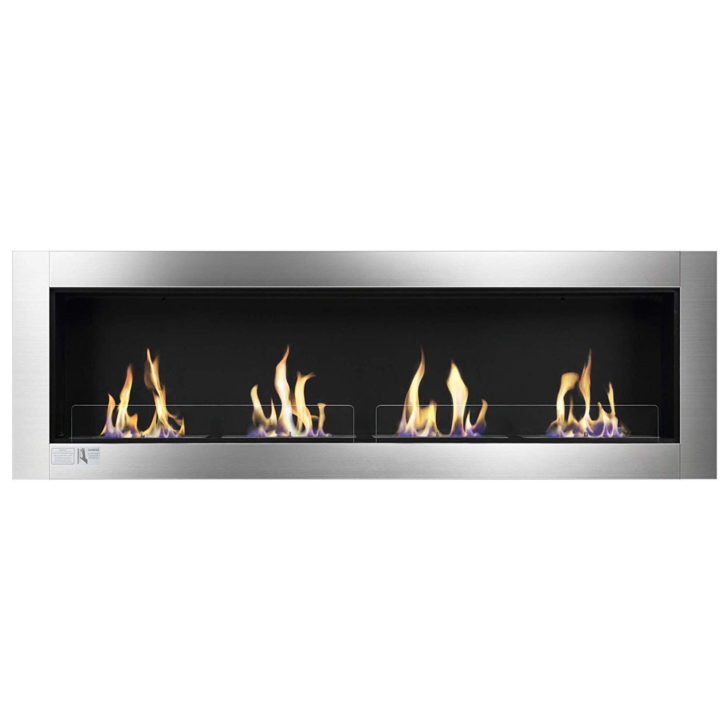 Amazon Com Xbeauty 70 Ventless Built In Recessed Bio Ethanol Fireplace With Safety Glass Indoor Ethanol Fireplace Wall Mounted Fireplace Bioethanol Fireplace
