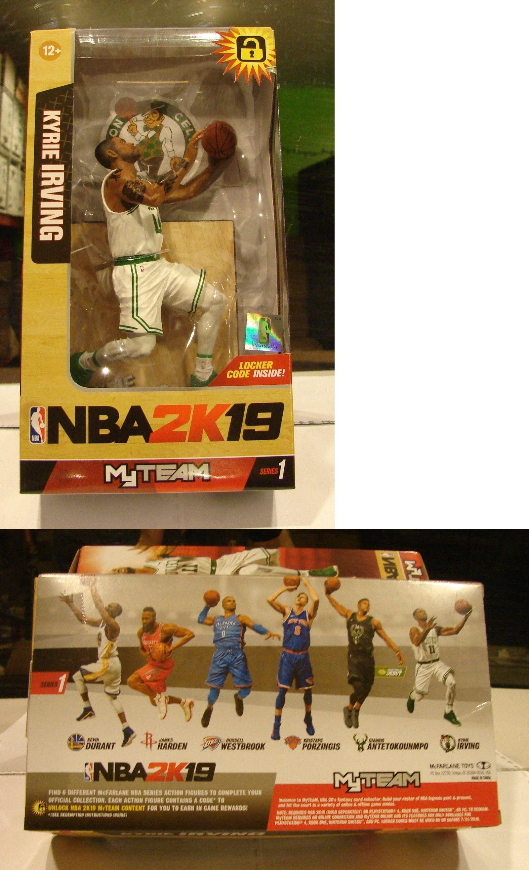aa923069378a Sports 754  Mcfarlane Nba2k19 Kyrie Irving Boston Celtics Series 1 Locker  Code Inside New -  BUY IT NOW ONLY   24.95 on  eBay  sports  mcfarlane   kyrie ...