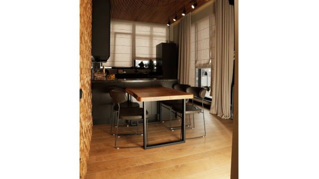 PORCELANOSA Grupo Projects: Views of Kiev through wood and