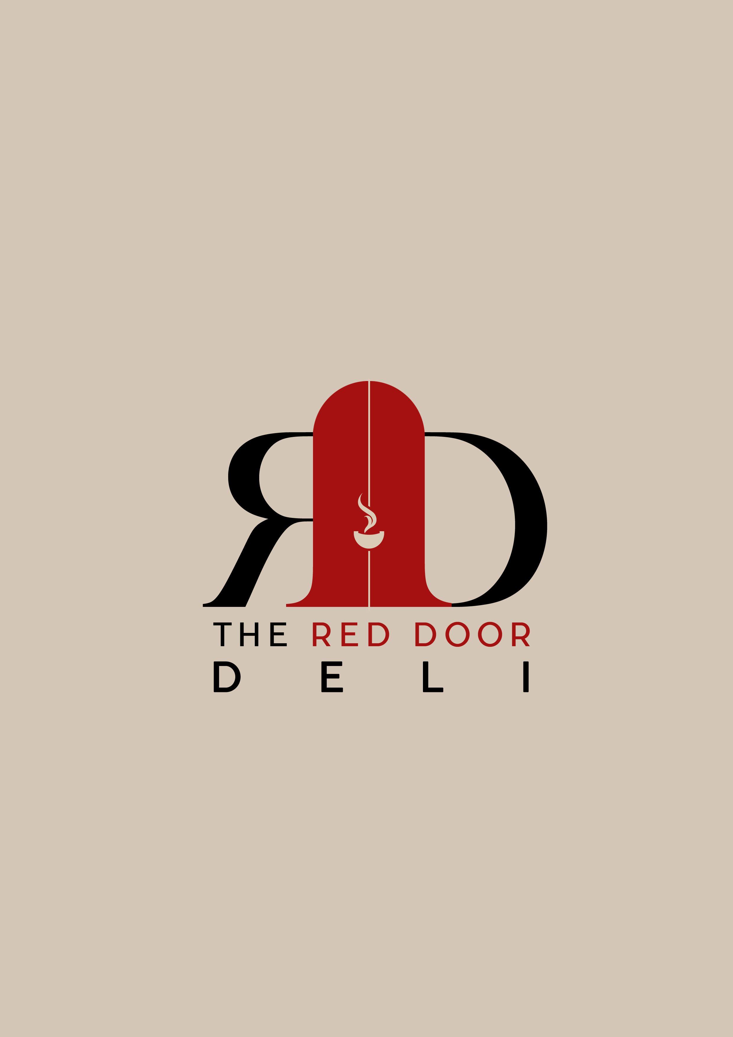Red Door Deli Proposed Logo Mnemonic Work Pinterest