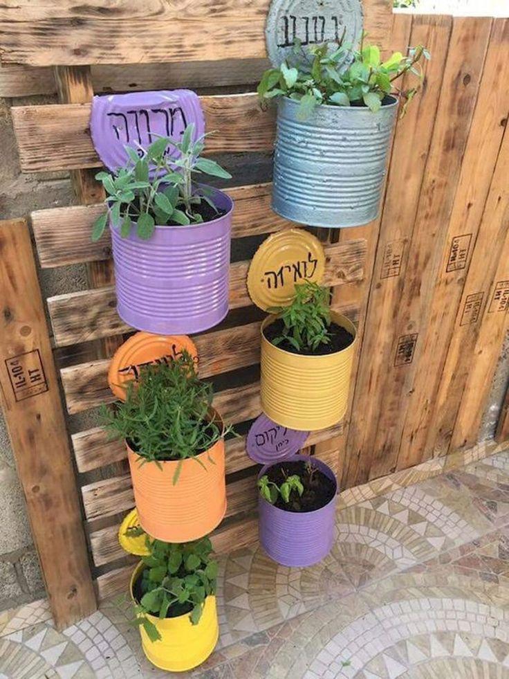 50 idées de décorations de fleurs pour le jardinage en conteneur (8  #conteneu…