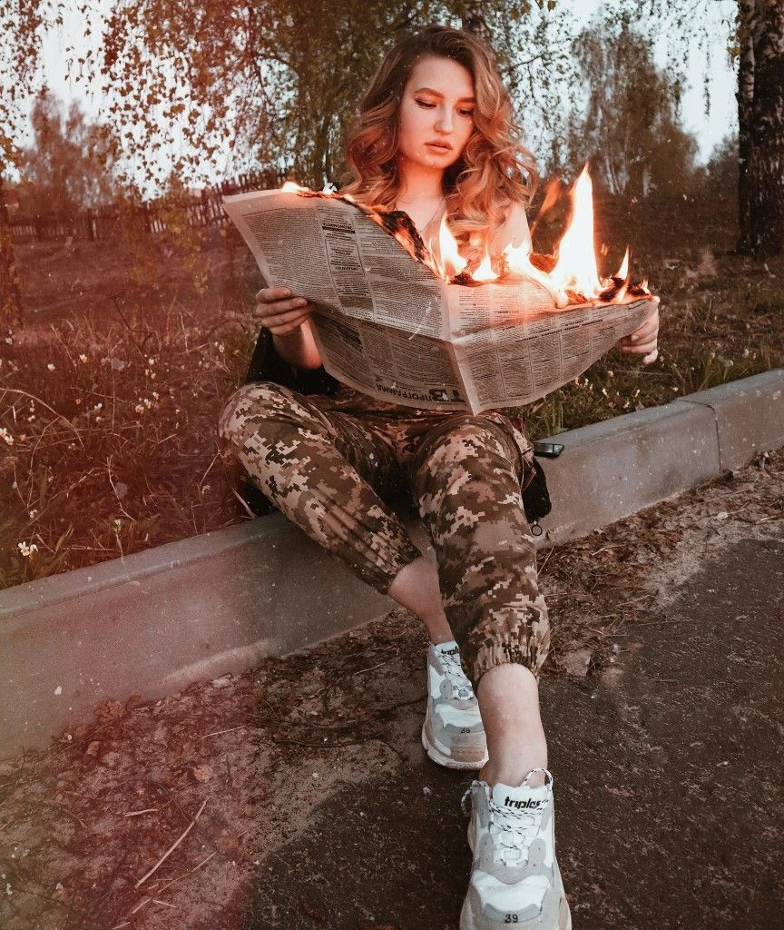 Фото с огнём sergey vasiliev