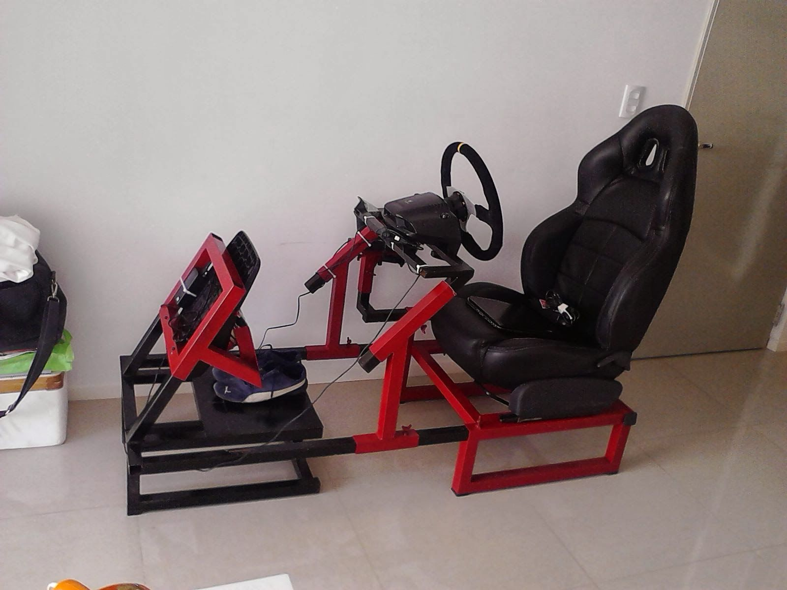 Simulador De Muebles Logitech G29 Chair Mueble De Simulador T Chair Cars
