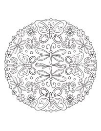 Free Printable Adult Coloring Pages From Faber Castell Website