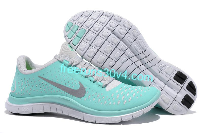 sale retailer cc9f4 ce28f Womens Nike Free 3.0 V4 Tropical Twist Reflective Silver Pro Platinum Shoes