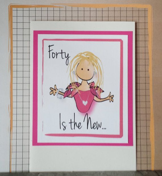 40th Birthday Card For Her Fabulous 40