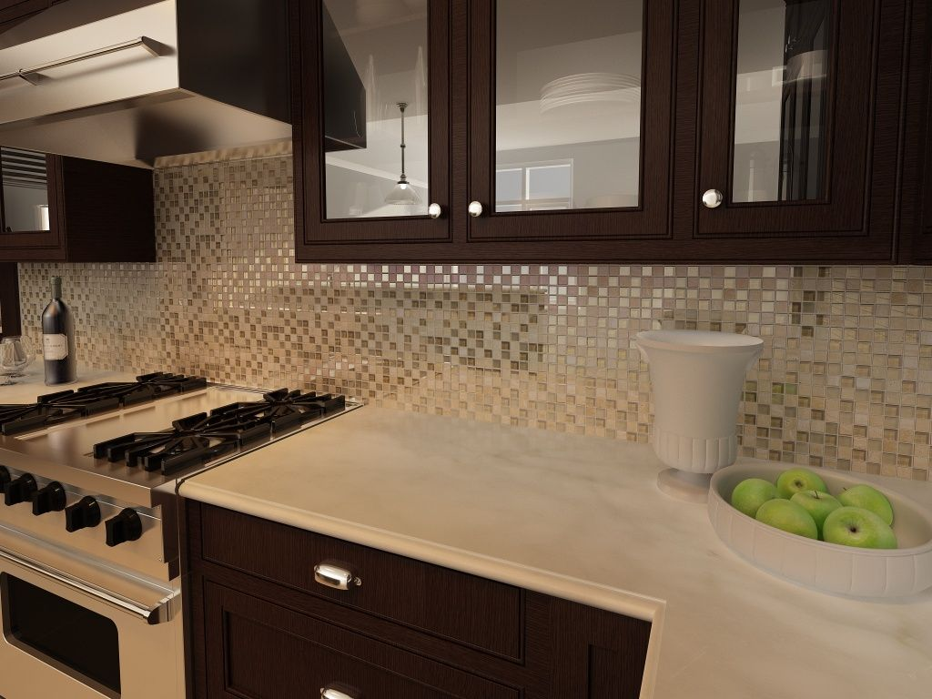 Backsplash mirror beige Interceramic México | cocina | Pinterest ...