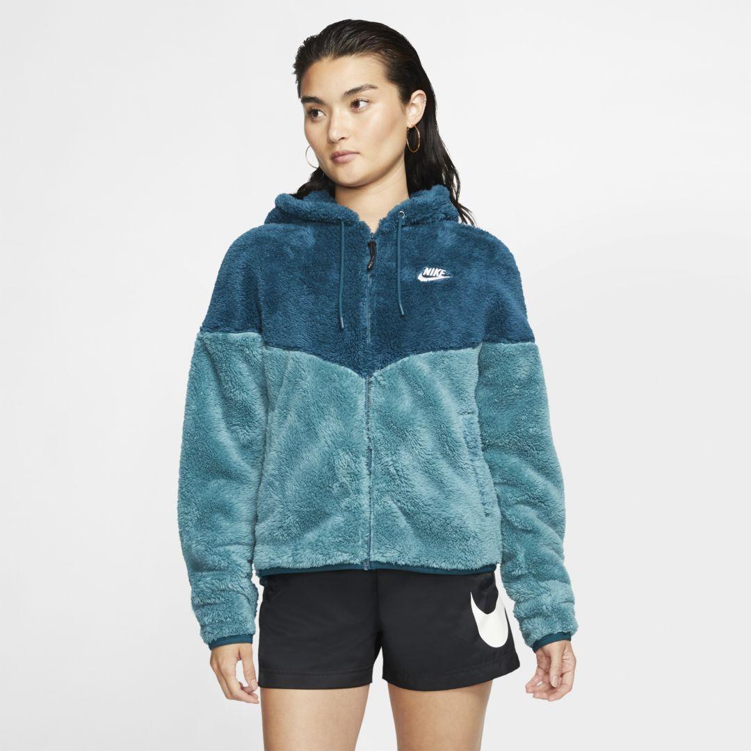 nike women's sherpa hoodie