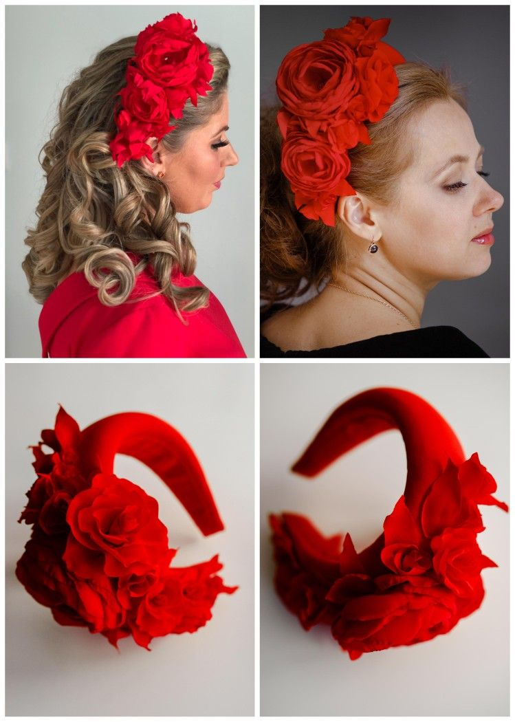 Halo flower crown, fall wedding party, halo headpiece fascinator, Halloween fascinator headband