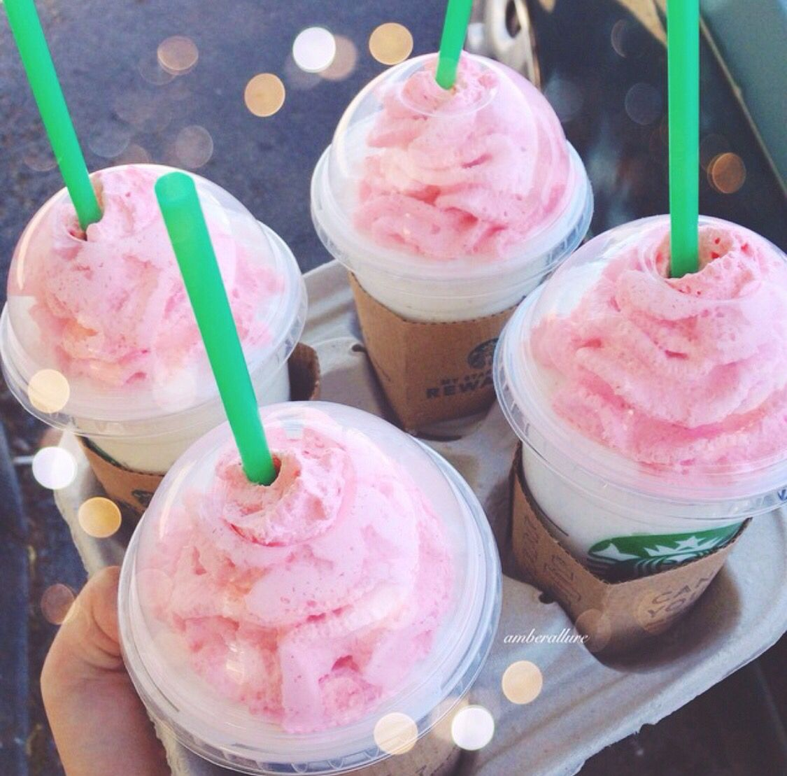 Birthday Cake Fraps Im Kind Of Obsessed With How Pretty They Are